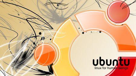 ubuntu, linux, orange