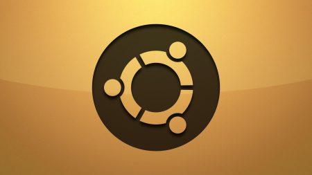 ubuntu, logo, background