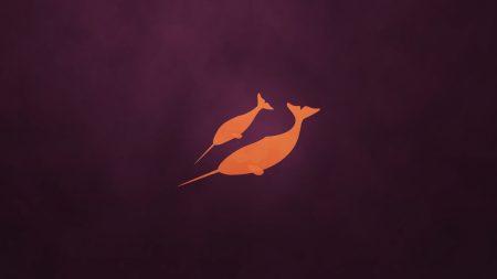ubuntu, os, orange