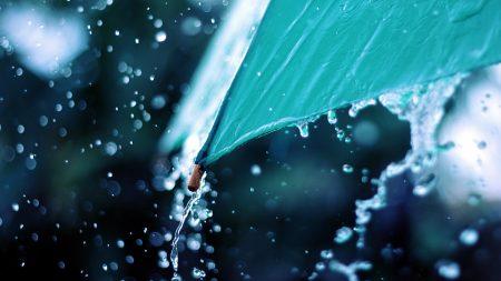 umbrella, water, spray