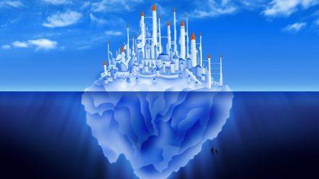 underwater world, sea, dolphin