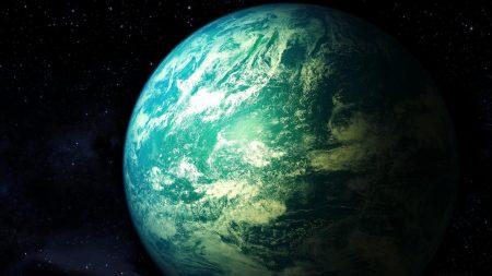 universe, planet, stars