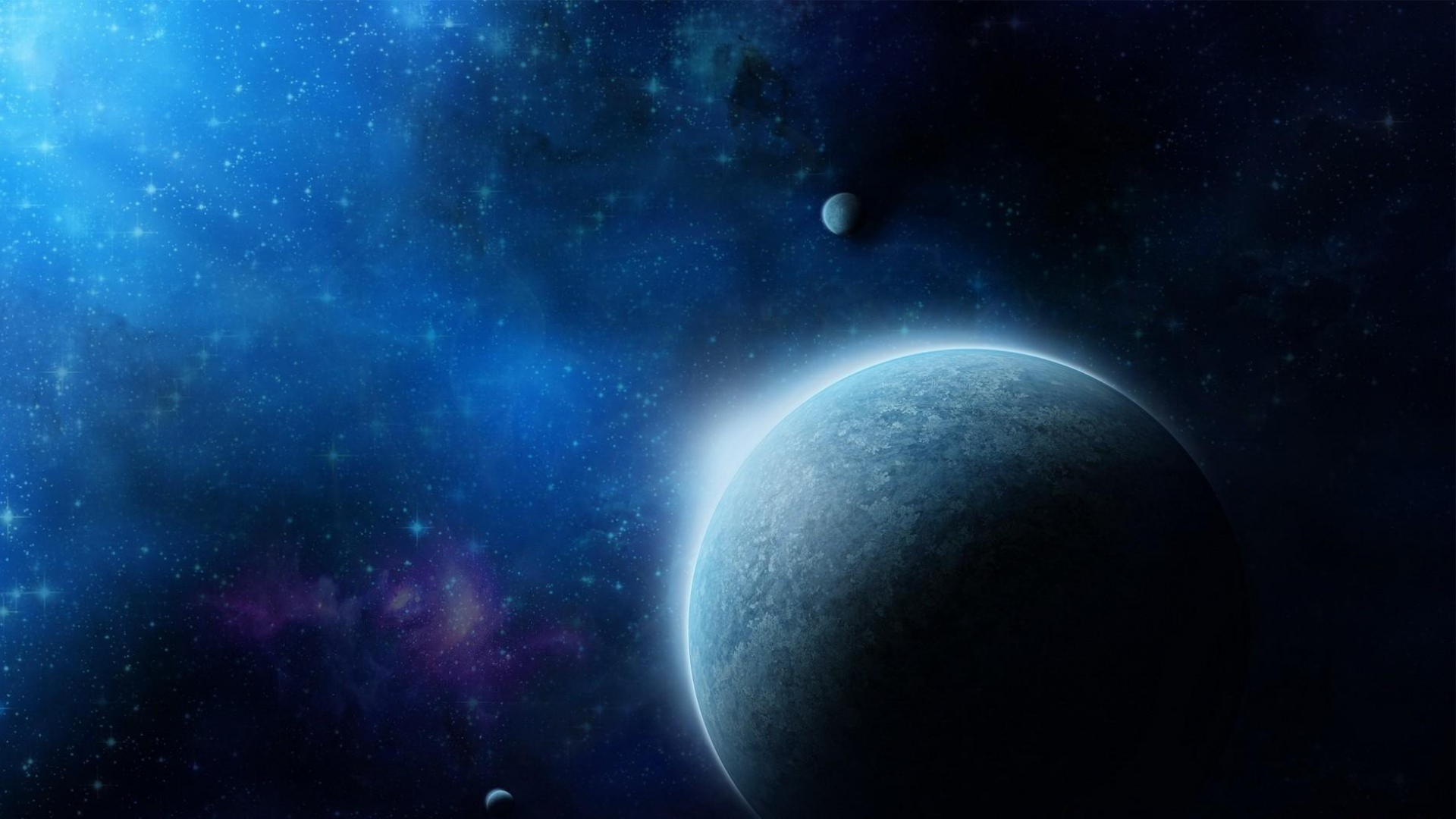 Download Wallpaper 1920x1080 Universe Planets Galaxies Stars