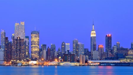 usa, new york, metropolis