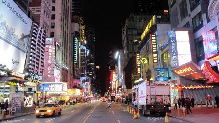 usa, new york, skyscrapers