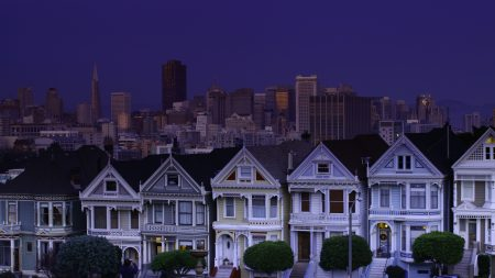usa, san francisco, night