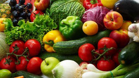 vegetables, allsorts, onions