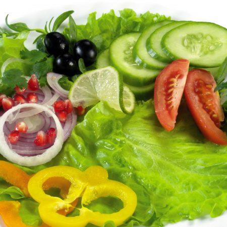 vegetables, lettuce, tomatoes