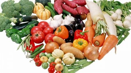 vegetables, set, variety
