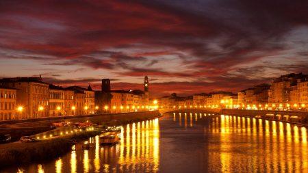 venice, canal, city
