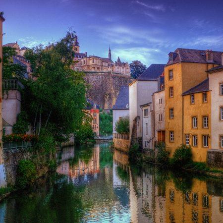 venice, house, river