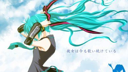 vocaloid, miku hatsune, girl