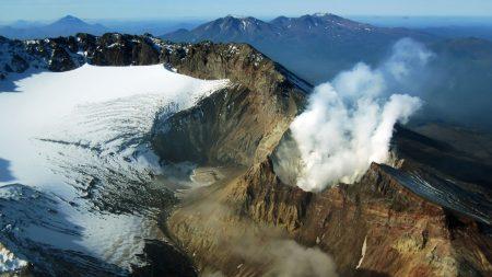 volcano, kamchatka, russia