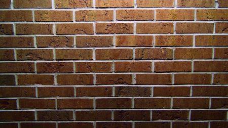 wall, brick, square