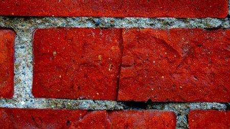 wall, bricks, cement