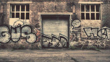 wall, city, graffiti