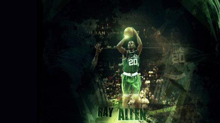 walter ray allen, basketball, player