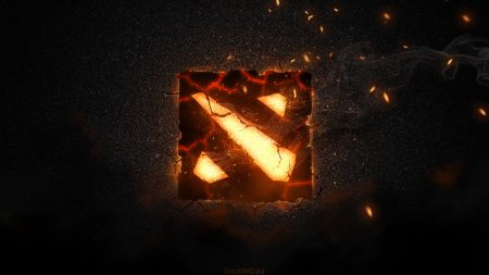 war cracks, logo, dota 2