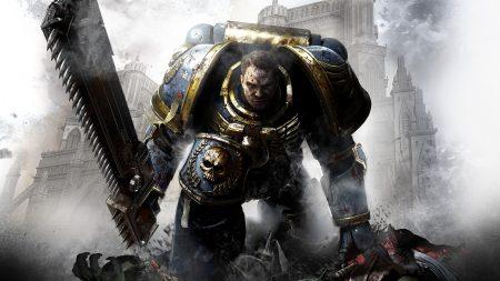 warhammer 40000, warrior, gun