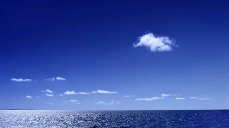 water space, sea, horizon