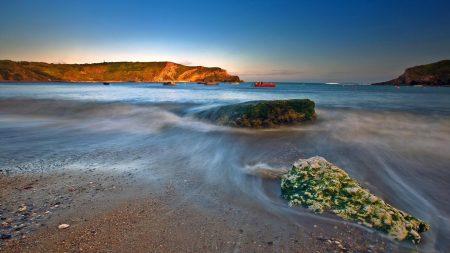 wave, sea, sand
