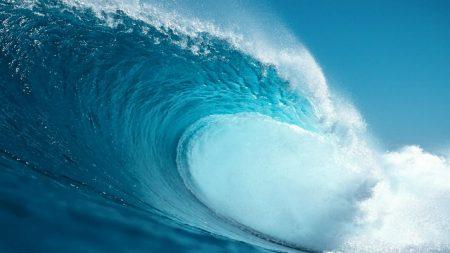 wave, splashes, stream