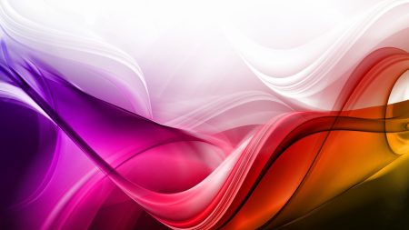 waves, background, colorful