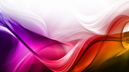waves, colorful, background