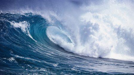 waves, sea, water