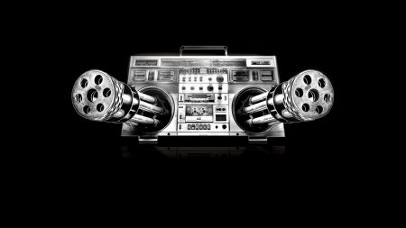 weapon, boombox, player