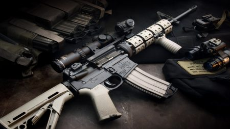 weapons, automatic, rifle