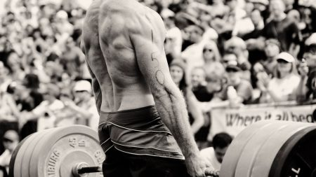 weightlifting, back, sportsman