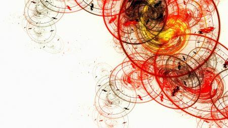 white, ovals, circles