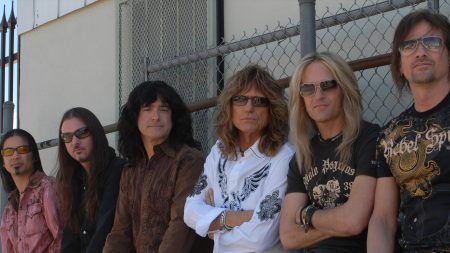 whitesnake, band, fence