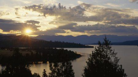 wild horse island, flathead lake, montana
