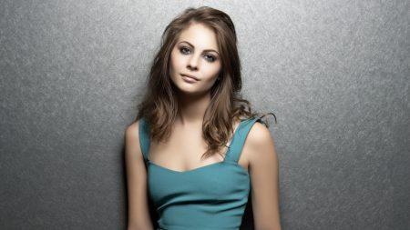 willa holland, brunette, dress