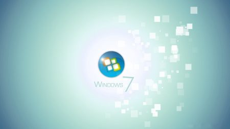 windows 7, background, light