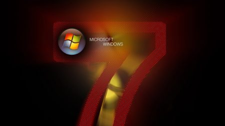 windows 7, microsoft, red