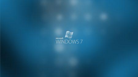 windows 7, os, blue
