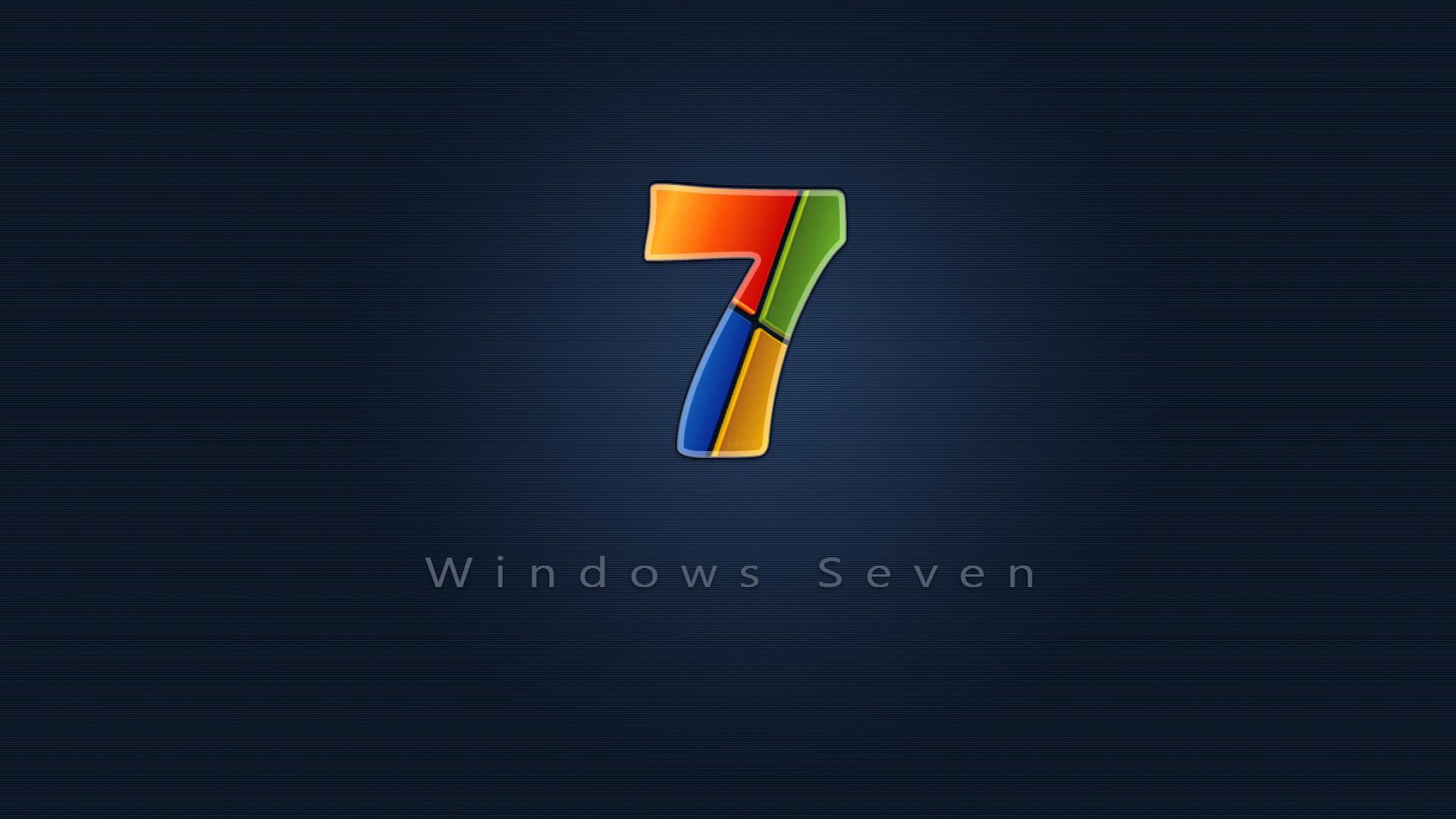 Download Wallpaper 1920x1080 Windows 7 Red Blue Yellow Green