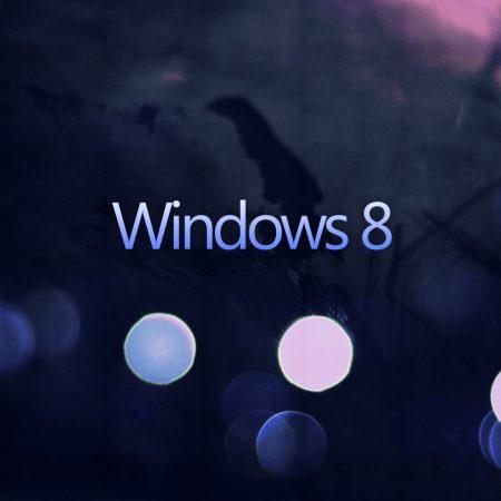 windows 8, white, blue