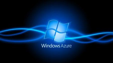 windows, azure, blue