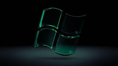 windows, green, black