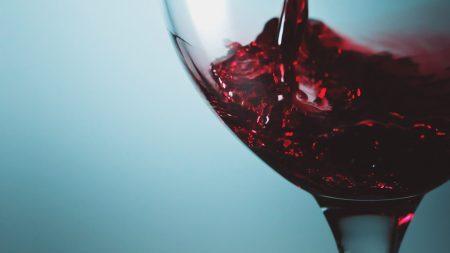wine, red, glass