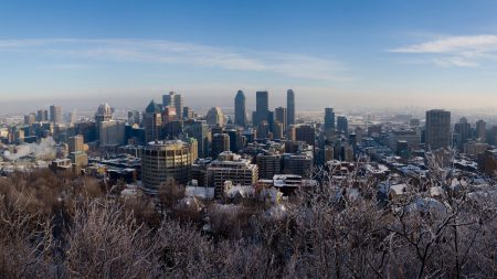 winter, montreal, canada