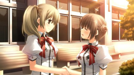 with ribbon, makiya sumika, blush