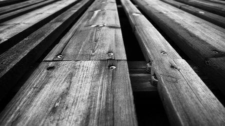 wooden floor, boards, nails