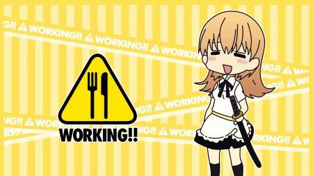 working, todoroki yachiyo, girl