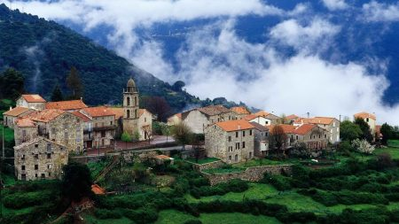 world, france, village