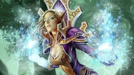world of warcraft, blood elf, energy